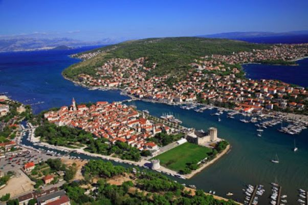 View from Trogir